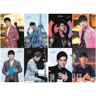 Star Poster Jay Chou Jay Poster 8pcs Embossed Poster