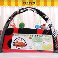 甲殼蟲帳篷寵物用品 貓咪玩具 吊床貓玩具 貓爬架貓用品  WD初語生活館