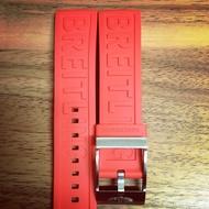 百年靈 代用橡膠錶帶