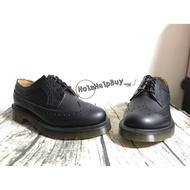 「歐美直送」 Dr. Martens 3989 雕花 黑 馬丁鞋