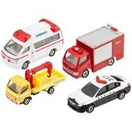 TOMICA 多美小汽車組 緊急車輛組