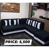 ‼️FACTORY SALE‼CASH ON DELIVERY URATEX SOFA SET WITH FREE 5 PILLOWS‼