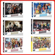 🚚SHIPING in 24 hours🚚 ONE PIECE /NARUTO puzzle 1000 pcs puzzles jigsaw puzzle adult decompression puzzle creative gift super difficult small puzzle educational puzzle Children's puzzle jigsaw#spc