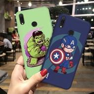 The Avengers Cartoon Soft TPU Case For OPPO R11 R11S R9S R17 Pro F1 F3 Plus R15 R7S Protector Cover