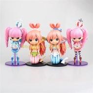 อะนิเมะOne Piece Peronaเจ้าหญิงShirahoshi Pvc Action Figure Collectionรุ่นQตาใหญ่ตุ๊กตา16-18ซม.ของเล่น
