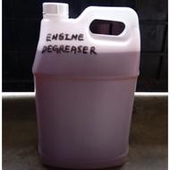 Engine degreaser alkaline base chemical use red 10 liter untuk car wash dan workshop