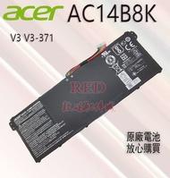 全新原廠 宏碁Aspire V3 V3-371 V3-371 V3-371 AC14B8K 筆記本電池