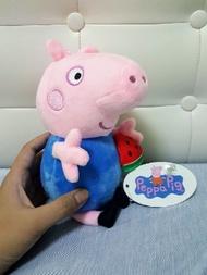 佩佩豬 6吋 3吋 娃娃 抱寵物款 吃西瓜款 泳裝款 爆米花款 佩佩豬娃娃 佩佩豬玩偶