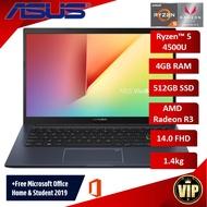 "Asus M413I Ryzen-5 4500U Processor 14.0"" Laptop"