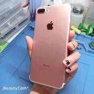 iPhone7 plus 128G(玫瑰金)99成新無傷 原盒序號一致 電池剛换新100%附配件 功能正常  彰化可面交