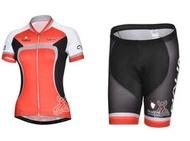 【綠色運動】2014年款NALINI 女款 車衣車褲短套裝 自行車服 單車服 頂極排汗透氣 騎士服