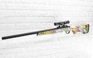 武SHOW BELL VSR 10 狙擊槍 手拉 空氣槍 狙擊鏡 彩色( 倍鏡瞄準鏡MARUI BB槍BB彈玩具槍長槍