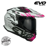 EVO DX-7  Arsenal Dual Sport Full Face Helmet