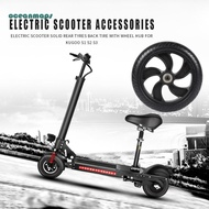 ❤OCEAN❤High Quality Electric Scooter Solid Rear Wheel Back Tire w/Wheel Hub for Kugoo S1 S2 S3