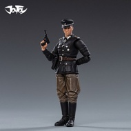 JOYTOY 1/18 Figure WWII Germany Wehrnacht Officer Soldiers Collectible Toy Military Model Christmas Gift