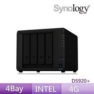 【希捷10TB】2入組 NAS硬碟(ST10000VN0008) +【Synology】DS920+ 網路儲存伺服器