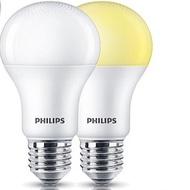 Philips 飛利浦 LED 球泡燈 燈泡 舒適光 7.5w 9.5w 11w(12W新款)無藍光 低閃頻