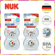 NUK Football Edition Soothers Pacifier Puting 6-18m 18-36m 🧡HOT🧡OFFER🧡