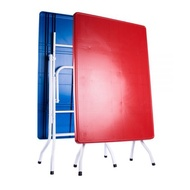 1 Piece 2x 3 ft Folding plactic table / Market table Night 2x3/ Foldable Plastic Dining Table 2'' x 3' Lipat/ Plastic