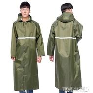 雨衣  長款連體雨衣戶外旅行徒步登山雨衣男成人長身輕便帶袖雨衣可 傾城小鋪