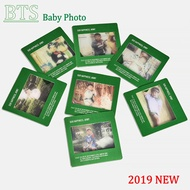 KPOP BTS 2019 Seasons Greetings Baby Photo Film Photocard RM SUGA Small Card