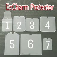 2.2 Sale🌈Ezlink Charm Protector Cover Elastic String Spring Strap Trace Together Token Protector