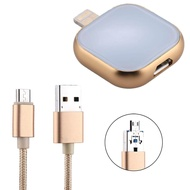 RQW-18S 8 Pin 128GB Multi-functional Flash Disk Drive with USB / Micro USB to Micro USB Cable, For iPhone XR / iPhone XS MAX / iPhone X & XS / iPhone 8 & 8 Plus / iPhone 7 & 7 Plus / iPhone 6 & 6s & 6 Plus & 6s Plus / iPad(Gold)