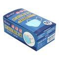 【光南大批發】(整箱購-更便宜)柔蝶防護口罩(成人)-水藍盒裝(50入/盒)一箱60盒入