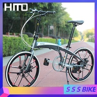 Hito X4 20/22 Inch Foldable Bicycle Male And Female Ultra-light Load Aluminum Alloy Transmission