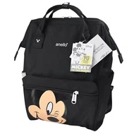anello_ Disney_ collaboration backpack Disney_ cartoon schoolbag anello_ male and female students computer backpack