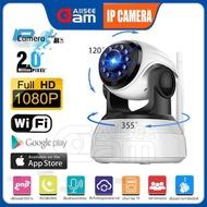 ALLSEECAM กล้องวงจร ปิด IP Camera กล้องวงจรปิด  2 Mp and IR Cut 1080P HD ด้วยการตรวจจับการเคลื่อนไหวคืนวิสัยทัศน์อินฟราเรดสำหรับ Baby Monitor, กันขโมย C AM11