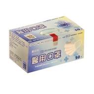 【順易利】2盒入-成人醫療級口罩(潮流天空藍 50入/盒 口罩國家隊)