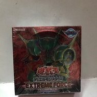 Yugioh Japanese extreme force booster box