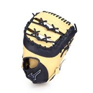 MIZUNO 硬式一壘手手套-右投  棒球 壘球 美津濃 淺卡其丈青 F