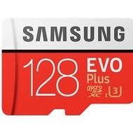 Samsung 三星 EVO Plus T-F 128GB microSDXC 記憶卡 公司貨 保固相同