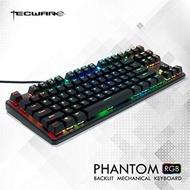Tecware ผีแป้นพิมพ์เครื่องกล tkl tenkeyless-87 คีย์-RGB Backlight