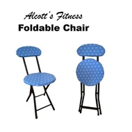 Alcott's Finest High Quality Wooden Seat Foldable Chair Alcott