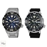 ของแท้ นาฬิกาข้อมือ Seiko Prospex Monster ประกันศูนย์ + กล่อง