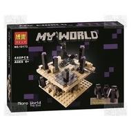 ★牛把拔★『現購』《博樂10173》我的世界/終界場景/創世神/麥塊/非LEGO與樂高積木相容
