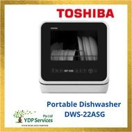 Toshiba Portable Dishwasher DWS-22ASG