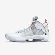 Nike 籃球鞋 Air Jordan XXXIV PF 白 銀 運動鞋 AJ34 BQ3381-101 【ACS】