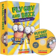 【Scholastic】英語橋樑書 Fly Guy and Buzz Deluxe Set  (15平裝書+2 CD)