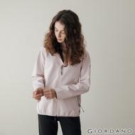 GIORDANO 女裝Softshell 三合一高機能刺繡徽章連帽外套-05 淡紫