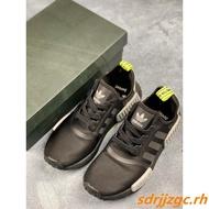 ✨正版保證✨Adidas NMD Boost 愛迪達三葉草 男女款黑白配色休閒氣墊鞋
