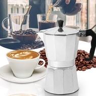 หม้อต้มกาแฟสด เครื่องชงกาแฟเอสเพรสโซ่ มอคค่า กาต้มกาแฟสด เครื่องชงกาแฟสด เครื่องทำกาแฟ แบบปิคนิคพกพา ใช้ทำกาแฟสดทานได้ทุก 150/300ml 10Shop