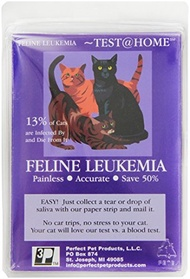 ▶$1 Shop Coupon◀  Feline Leukemia Test at Home-Save $150-Accurate Felv Saliva Test at Vet Lab-Most C