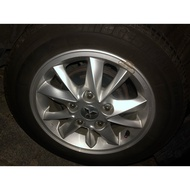 三菱 colt plus 原廠二手鋁圈+輪胎 175/65/R14