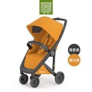 【荷蘭Greentom】Classic經典款-經典嬰兒推車(尊爵黑+陽光黃)