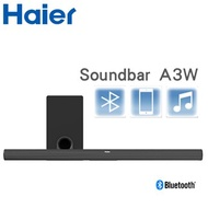 Haier海爾 藍牙無線聲霸揚聲器劇院組合Soundbar+重低音揚聲器 A3W