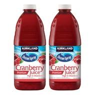 免運可刷卡 🙋好市多宅配  科克蘭 蔓越莓綜合果汁 2.84公升 X 2入